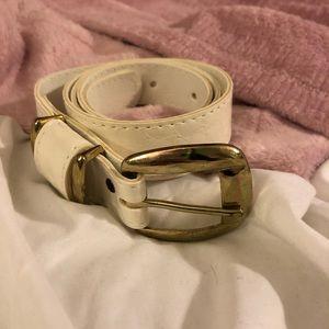 Accessories - Snakeskin Print Belt